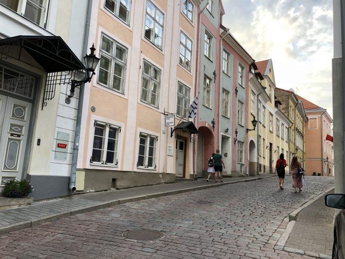タリン旧市街の街並み