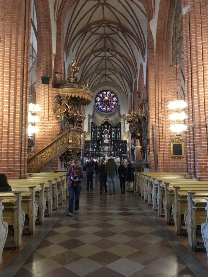 ストックホルム教会の中の様子