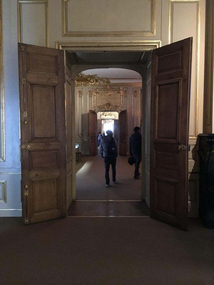 ストックホルム宮殿の中