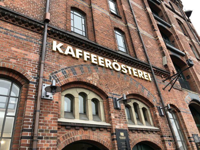 人気カフェ「シュパイヒャーシュタット カフェラステライ(Speicherstadt Kaffeerösterei)」