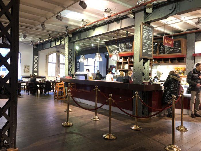 Speicherstadt Kaffeerösterei、お洒落です