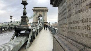 ブダペストのシンボル、セーチェーニ鎖橋