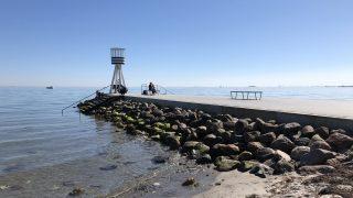 ヤコブセンがデザインしたベルビュービーチ。