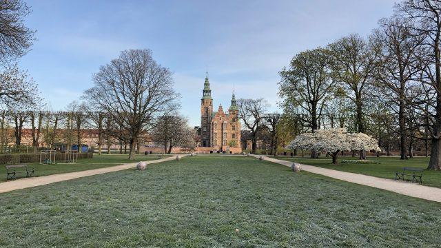コペンハーゲンにあるローゼンボー城