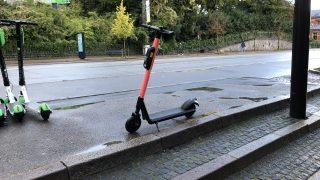 VOI.の電動スクーター発見!