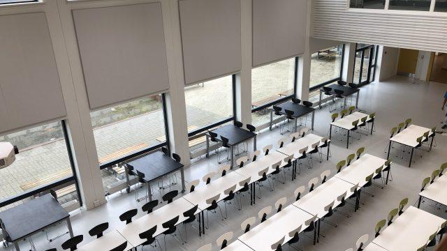 デンマークの高校「ROSBORG GYMNASIUM」