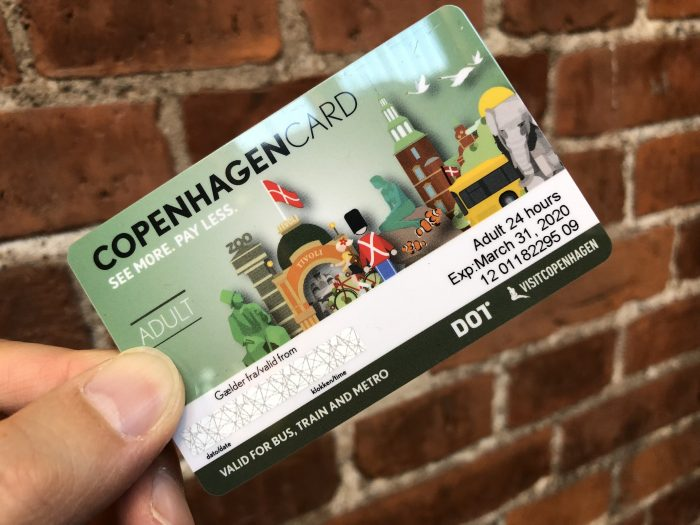 コペンハーゲンカードが使えます