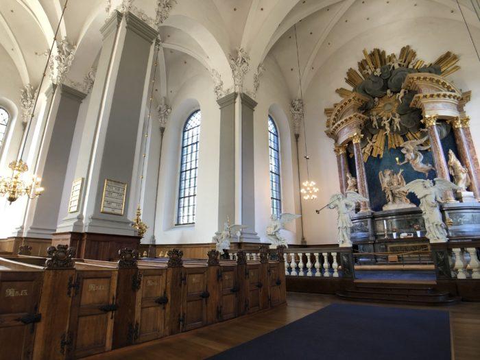歴史あるコペンハーゲンの救世主教会