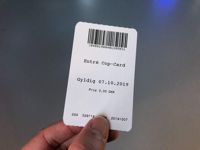 ブループラネットのチケット