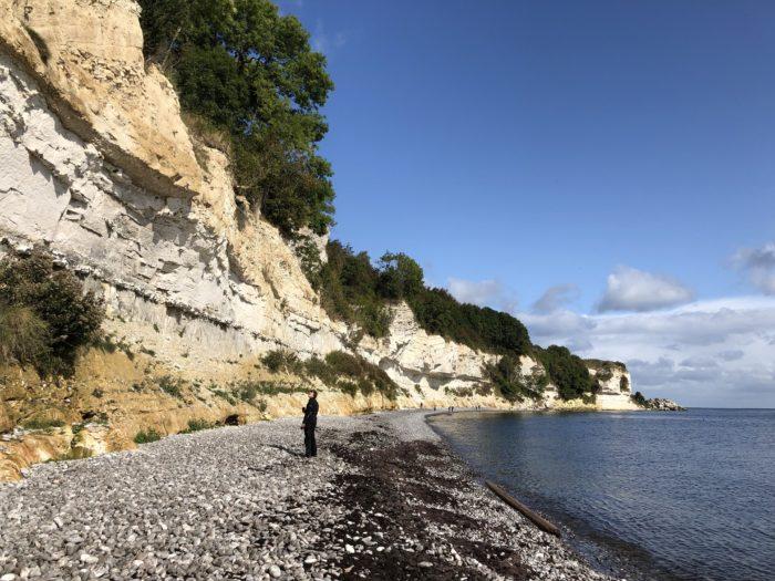 ステウンスの崖壁は世界遺産