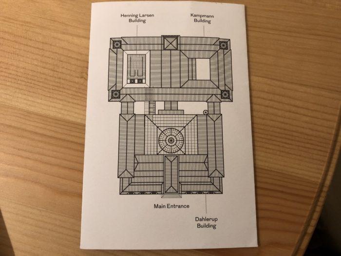 ニューカールスベア美術館のマップ